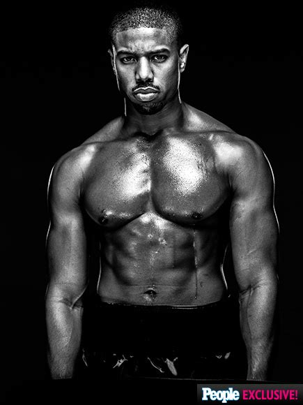 shirtless michael b jordan on creed and why