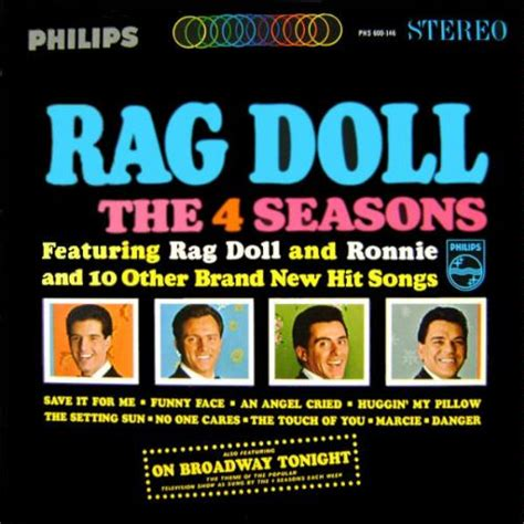 rag doll four seasons the four seasons rag doll 1964 lyricwikia song