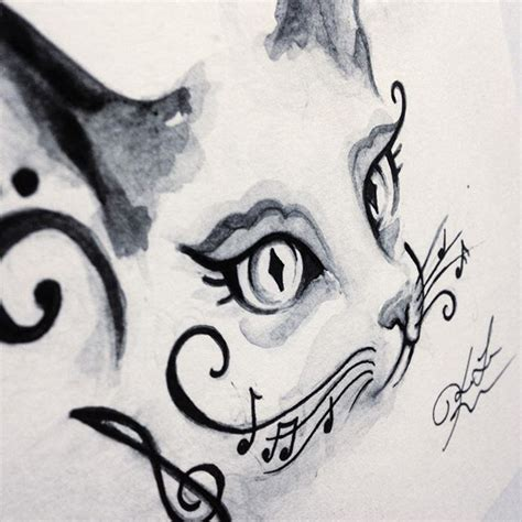 tattoo cat music 213 best cats images on pinterest fluffy pets kitty