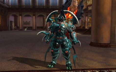 aion badass armor dyed blue mmorpgcom aion galleries