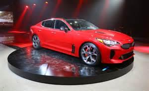 Kia Cr Detroit Show Kia Stinger Targets The Germans News The