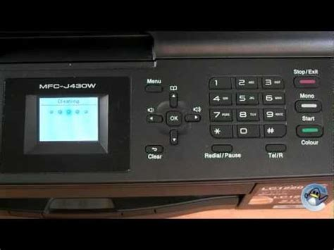 how to install mfc j430w brothers mfc j430w printer brother international