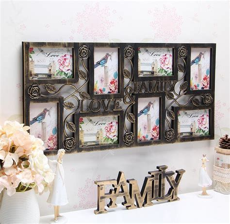 wall hanging photo collage family wall hanging photo collage frame 8 picture