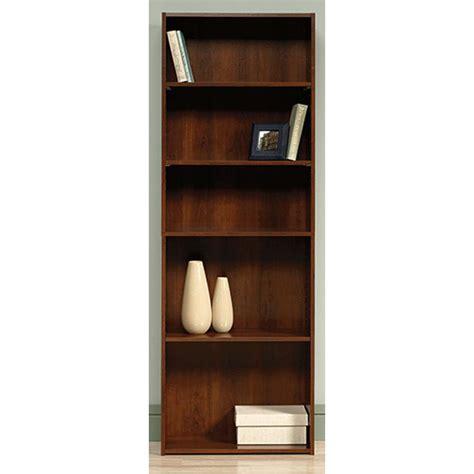 sauder beginnings bookcase sauder beginnings collection 71 in 5 shelf bookcase in