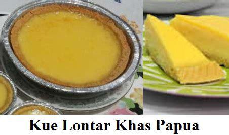 resep kue lontar khas papua dapur teh enur
