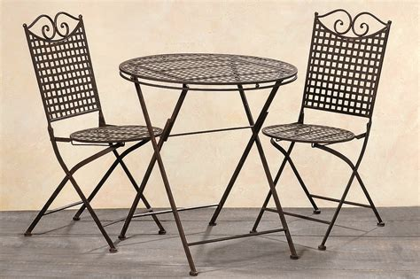 bistro set metall metall bistro st 252 hle m 246 belideen