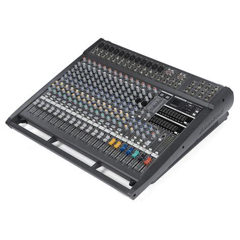 Mixer Audio Samson disc samson s4000 powered mixer na gear4music