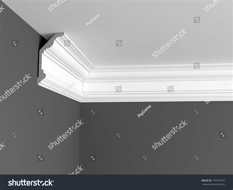 How To Install Ceiling Cornice ceiling cornice stock illustration 174379676