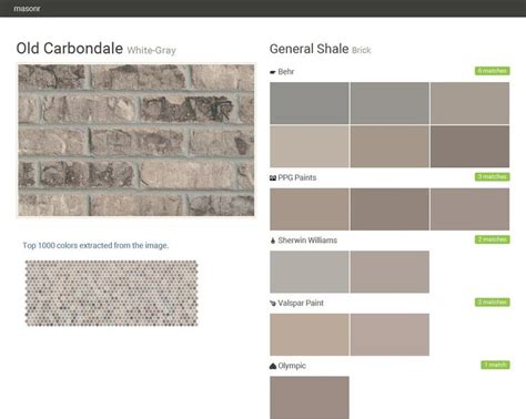 colors that match gray 66 best 2016 general shale images on pinterest grey