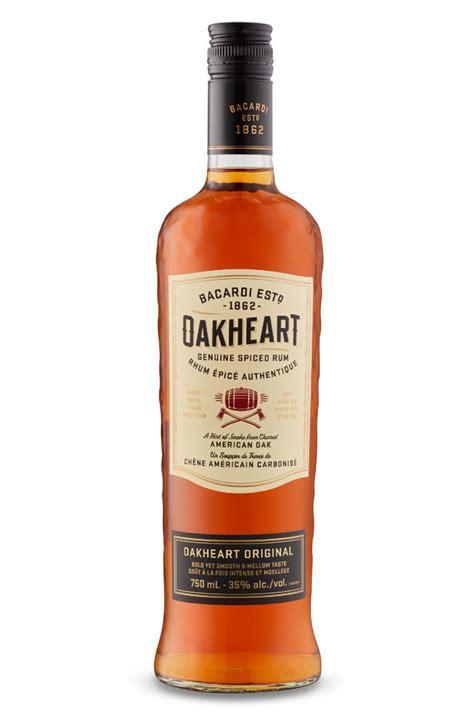bacardi oakheart bacardi oakheart spiced rum spirit drink