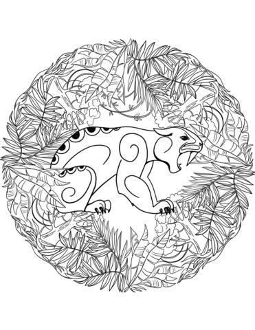 mandala coloring book purpose jaguar mandala coloring page free printable coloring pages