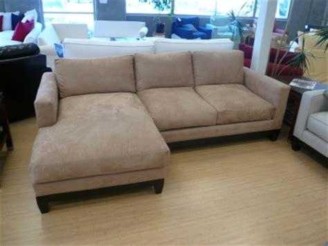 ultra suede sofa sofa u love custom made in usa furniture