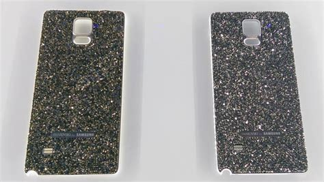 Anyland Swarovski Samsung Galaxy Note 3 samsung introduced note 4 s swarovski back cover and led cover accessories