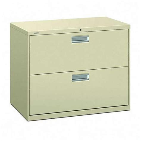 Metal Lateral Filing Cabinets 600 Series 2 Drawer Lateral Metal Filing Cabinet With Lock 682l