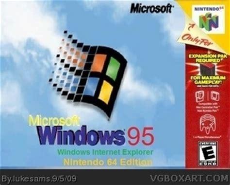 box windows 95 windows 95 nintendo 64 edition nintendo 64 box cover