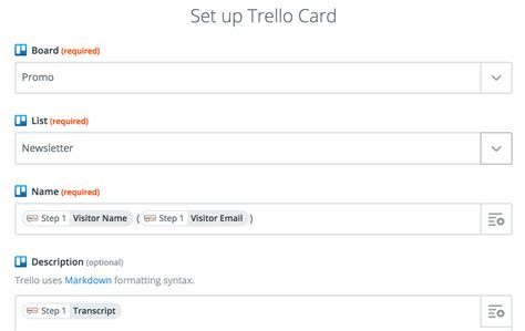 trello template card trello livechat integration tutorial