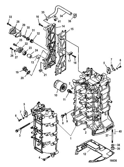 Mercury Marine 75 HP EFI (4-Stroke) Cylinder Block