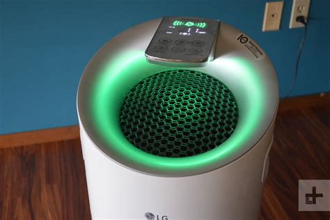 lg puricare air purifier review digital trends