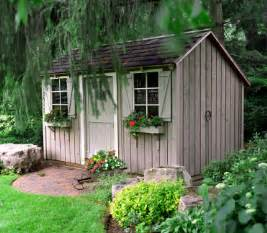 living in a shed