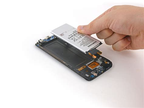 S6 Samsung Battery by Samsung Galaxy S6 Edge Battery Replacement Ifixit Repair Guide
