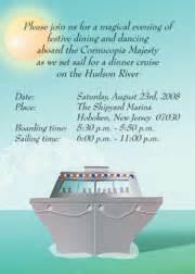 cruise invitations
