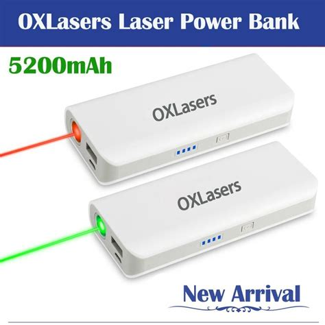 Power Bank Advance Digital 5200mah oxlasers ox 20 5200mah power bank for phones and tablet pc with laser pointer china
