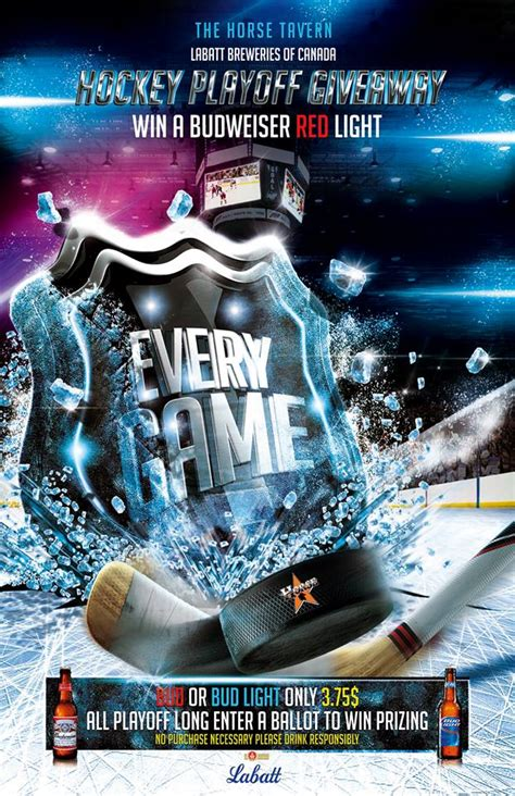 Hockey Giveaways - hockey playoff giveaway at the horse tavern entertainment sudbury