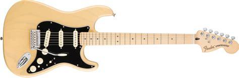 imagenes retro guitar pro fender deluxe stratocaster 174 maple fingerboard vintage blonde
