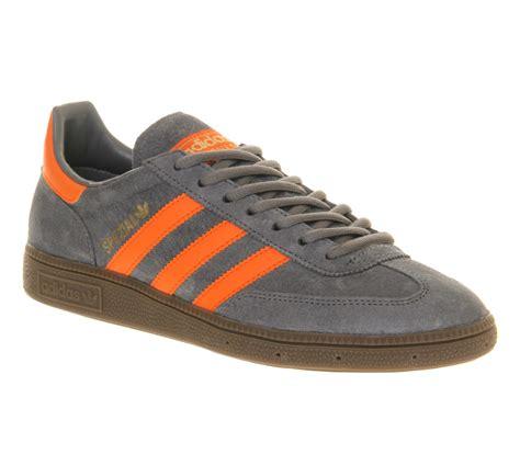 adidas spezial grey orange  gray  men lyst