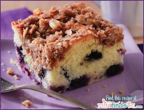 recipes easy blueberry coffee cake recipe with streusel
