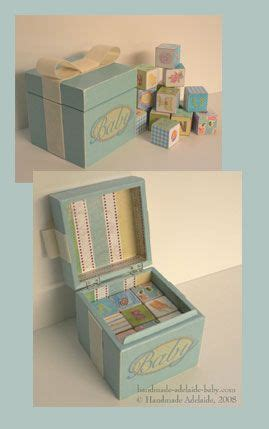 Handmade Memory Boxes - handmade keepsake box for baby beb 234