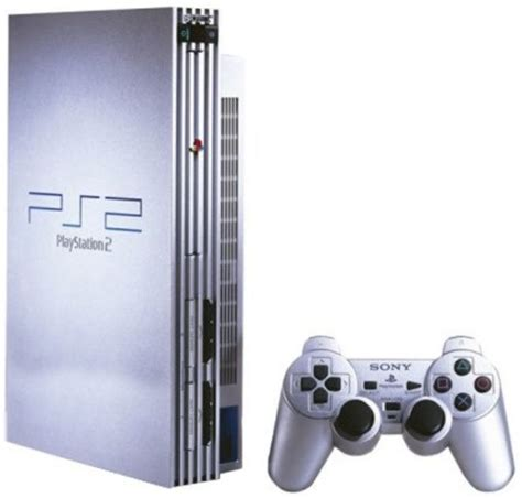 console ps2 sony playstation 2 ps2 console original quot quot silver