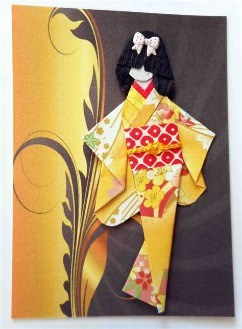 Origami Geisha - 1000 images about japanese paper dolls on