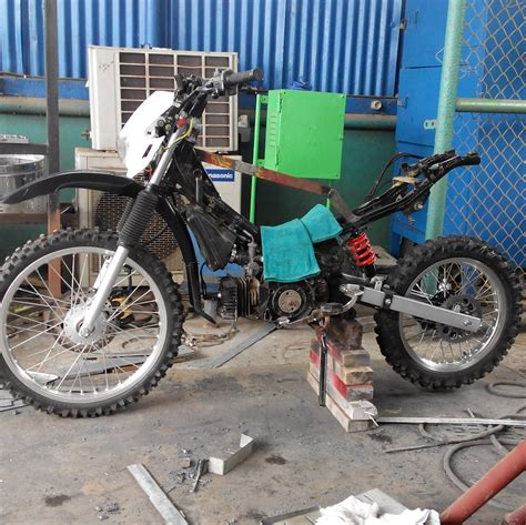 Trail Rakit modifikasi yamaha f1zr trail adventure hnd24motobike