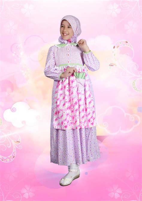 Baju Muslim Anak Gamis 18 model baju muslim gamis pesta anak terbaru 2015 baju