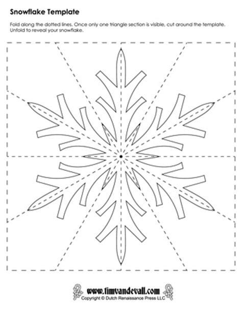 deer snowflake printable template paper snowflake templates