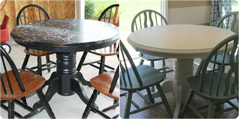 Repaint Kitchen Table by Refinishing Kitchen Table Ideas Designyou