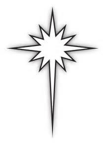star bethlehem black white clipart china cps