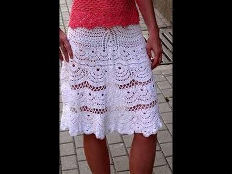 falda recta a crochet paso a paso hermosas falda tejidas a crochet 2 176 video youtube