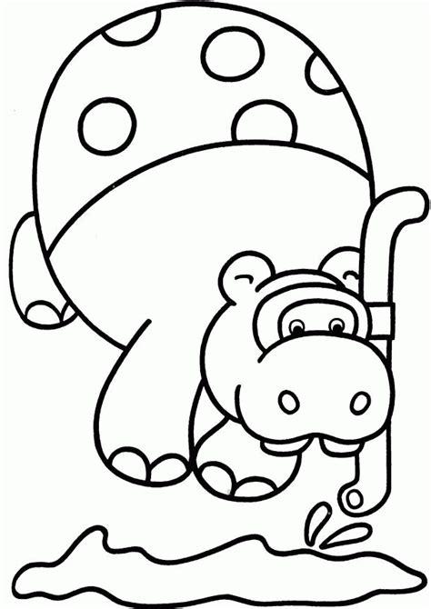 imagenes para colorear hipopotamo desenho para colorir hipopotamo az dibujos para colorear