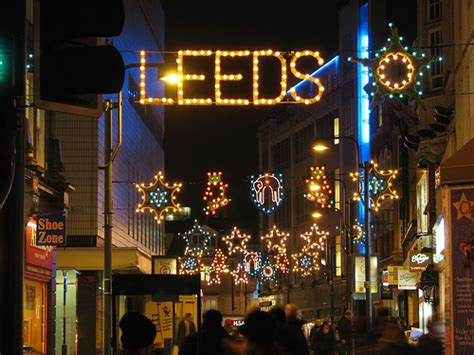 christmas in leeds market lights jobs events ice