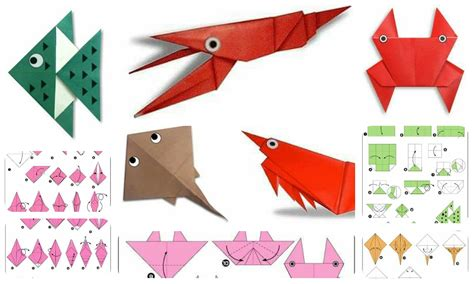 Origami Paper Work - paper work for make a origami fish and more