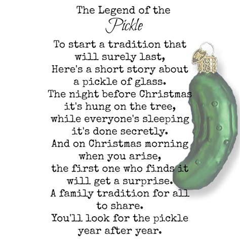 Pickle Story Printable