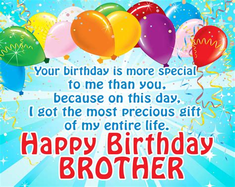 And Birthday Quotes 63 Happy Birthday Brother Quotes Big Little Funny And