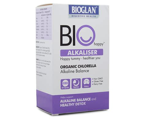 Bioglan Au Detox by 2 X Bioglan Bio Happy Alkaliser Organic Chlorella 60 Caps