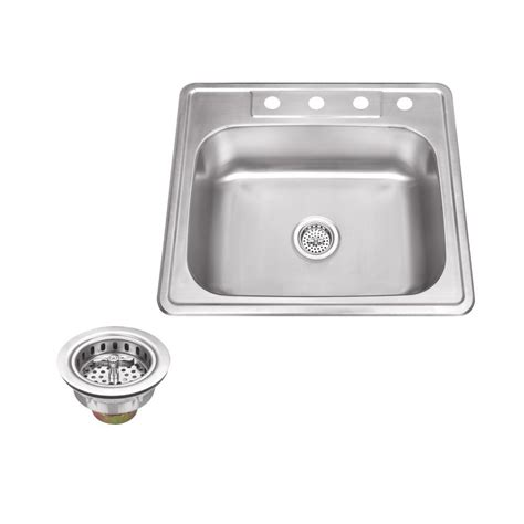 kitchen sink company ipt sink company drop in 25 in stainless steel single