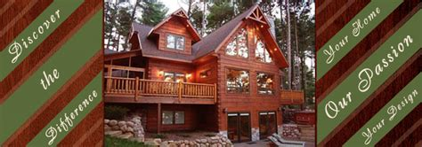 Kettle Moraine Cabins by Kettle Moraine Log Homes