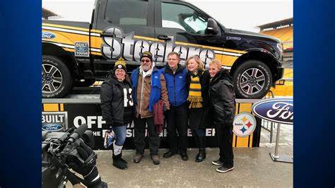 Steelers Ford Truck Sweepstakes - lawrence county man wins official steelers truck 171 cbs pittsburgh