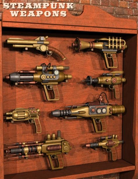 Home Interiors Party Catalog Steampunk Weapons
