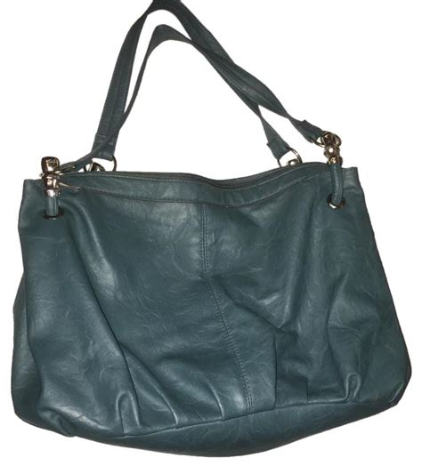 Misel Collection Tote Bag Bag As bueno collection teal soft leather large handbag tote